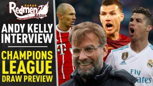🎧🏆 Champions League Draw Preview | Andy Kelly Exclusive Interview Podcast