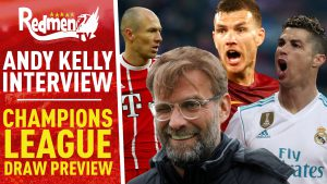 📹🏆 Champions League Draw Preview | Andy Kelly Exclusive Interview
