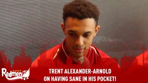 Trent Alexander-Arnold On Having Sané In His Pocket