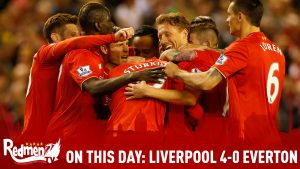 On This Day: Liverpool 4-0 Everton