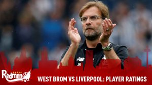 West Brom vs Liverpool: Player Ratings