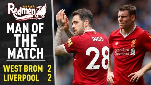 🎧🏆 West Brom 2-2 Liverpool | Man of the Match Podcast