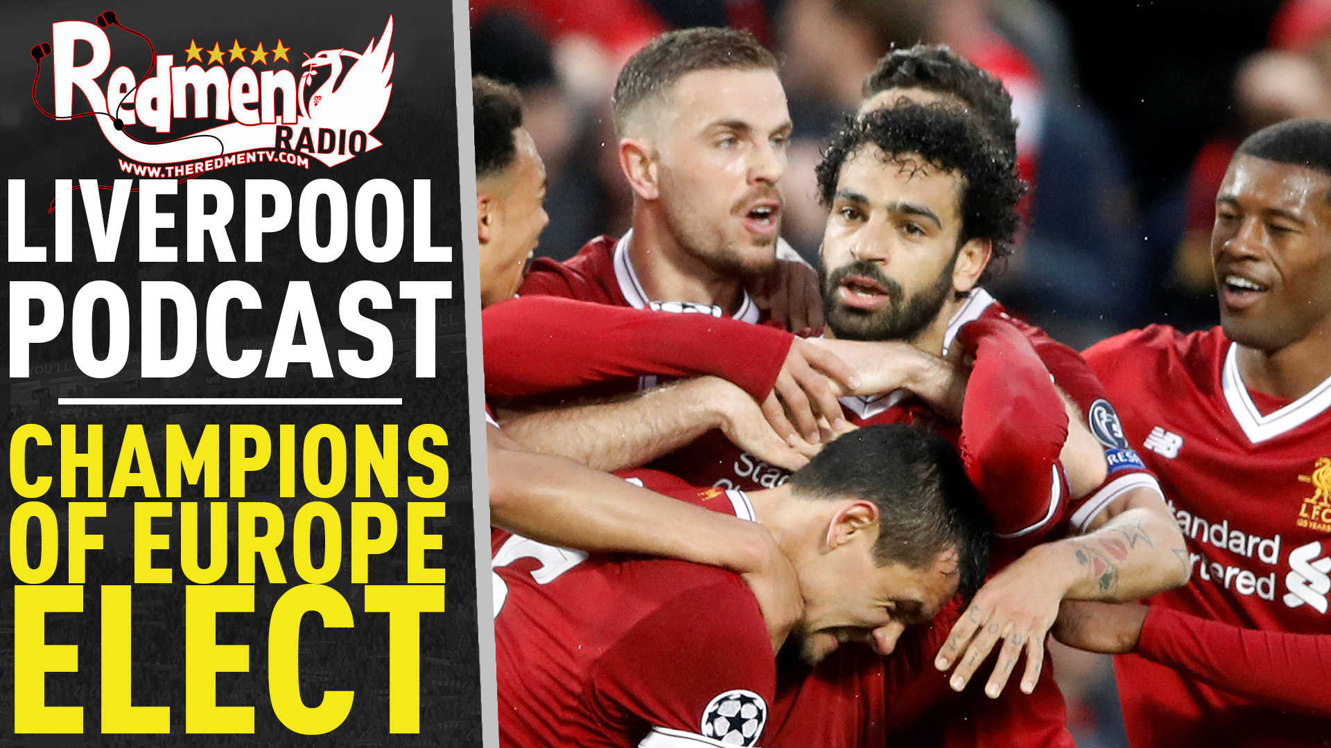 🎧 CHAMPIONS OF EUROPE-ELECT | LIVERPOOL FC PODCAST