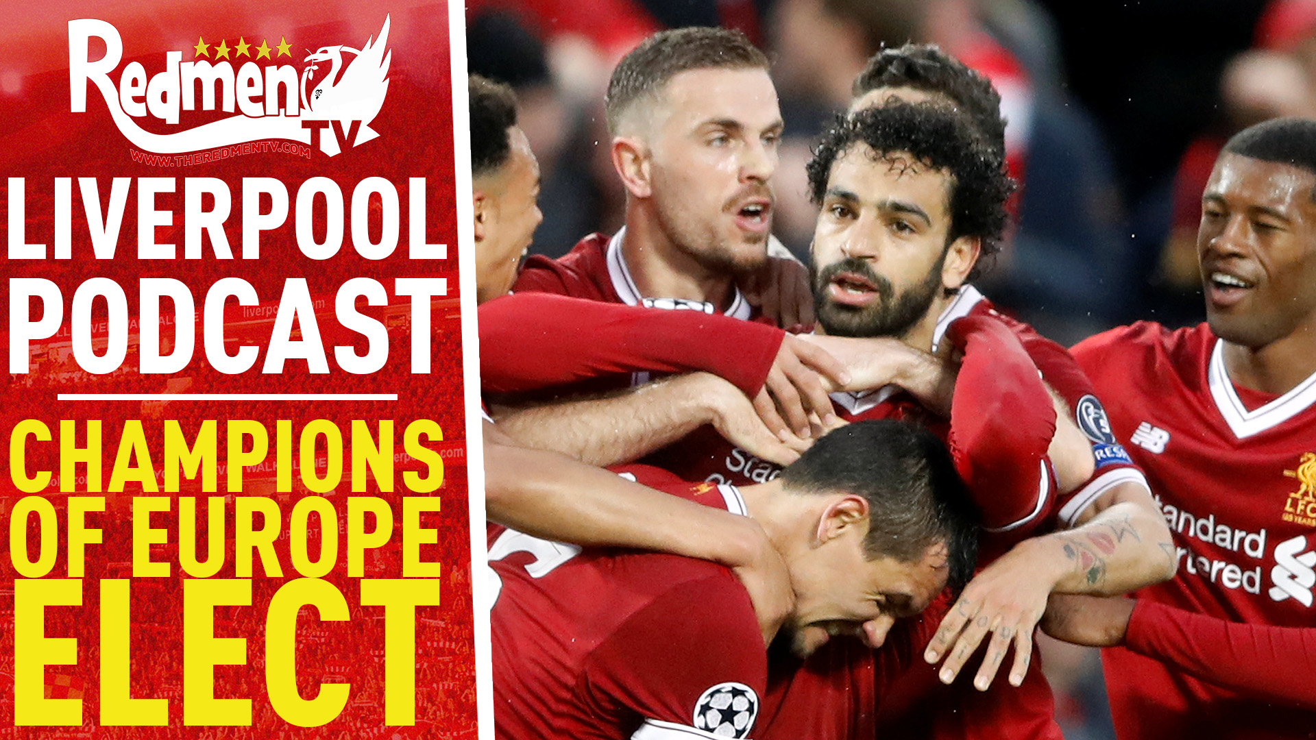 CHAMPIONS OF EUROPE-ELECT | LIVERPOOL FC VIDEO PODCAST