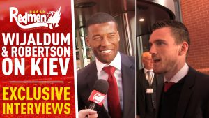 📹🏆 Andy Robertson and Gini Wijnaldum | Exclusive Interviews