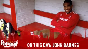 On This Day in 1987 Liverpool signed John Barnes