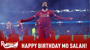 Happy Birthday Mo Salah!