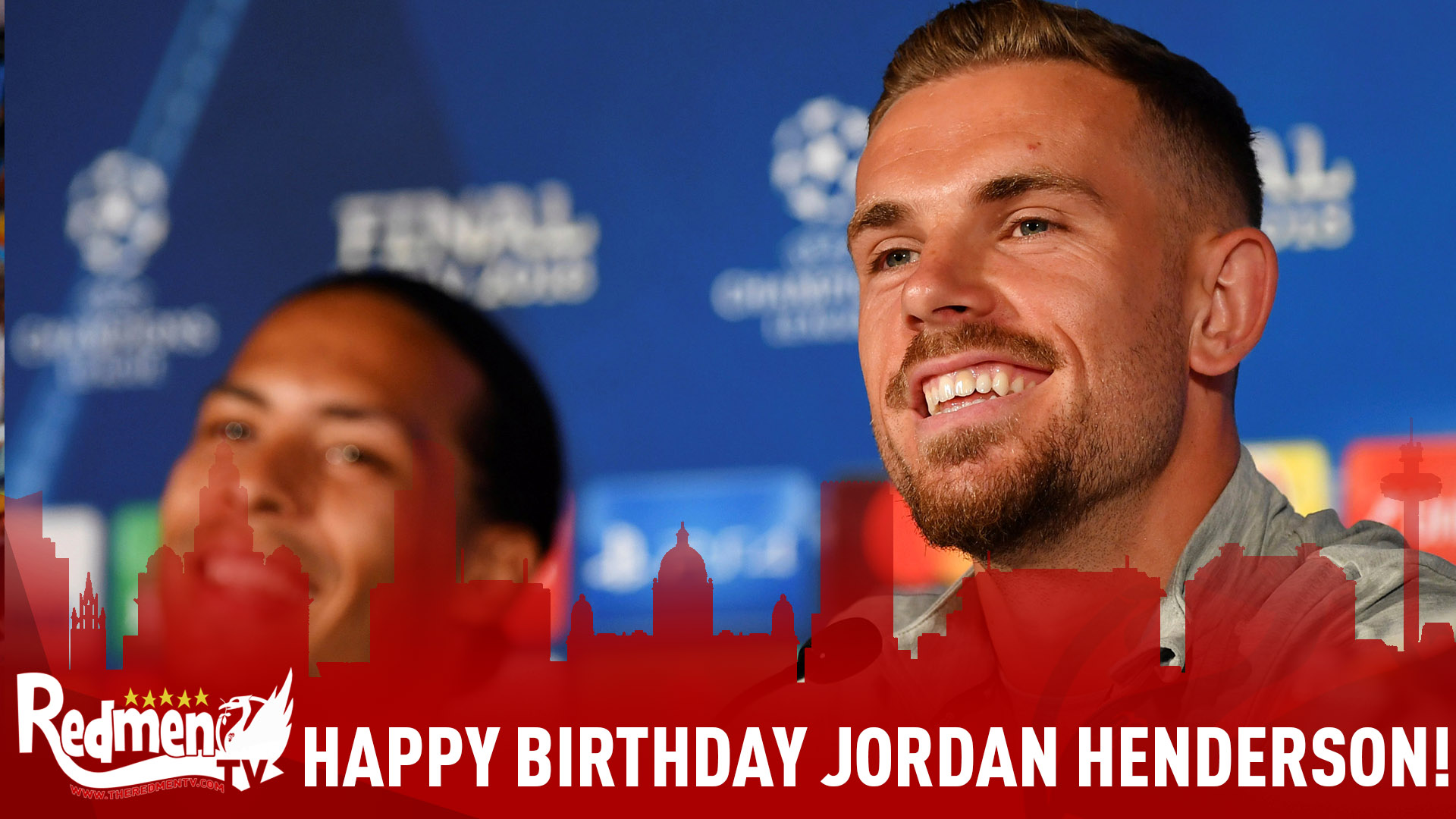 Happy Birthday Jordan Henderson!