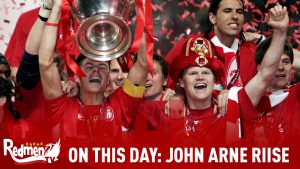 On This Day in 2001 John Arne Riise signed for Liverpool FC