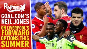 📹🏆 Goal.com's Neil Jones on Liverpool's Striking Options This Summer | Exclusive
