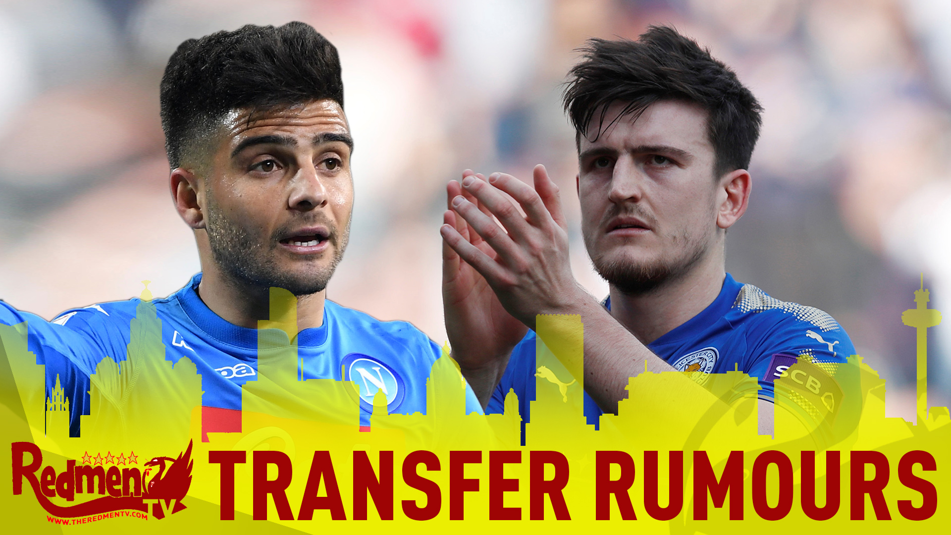 Liverpool Interested in Harry Maguire and Lorenzo Insigne? | #LFC Transfer Rumours