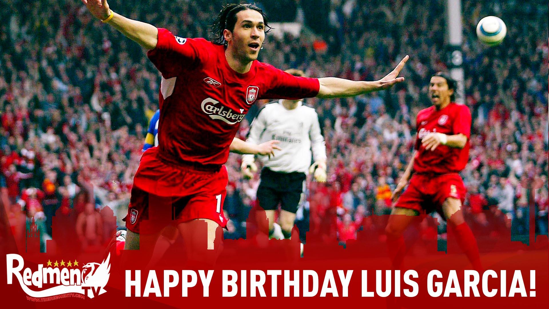 Happy Birthday Luis Garcia!