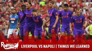 Liverpool VS Napoli | Things We Learned