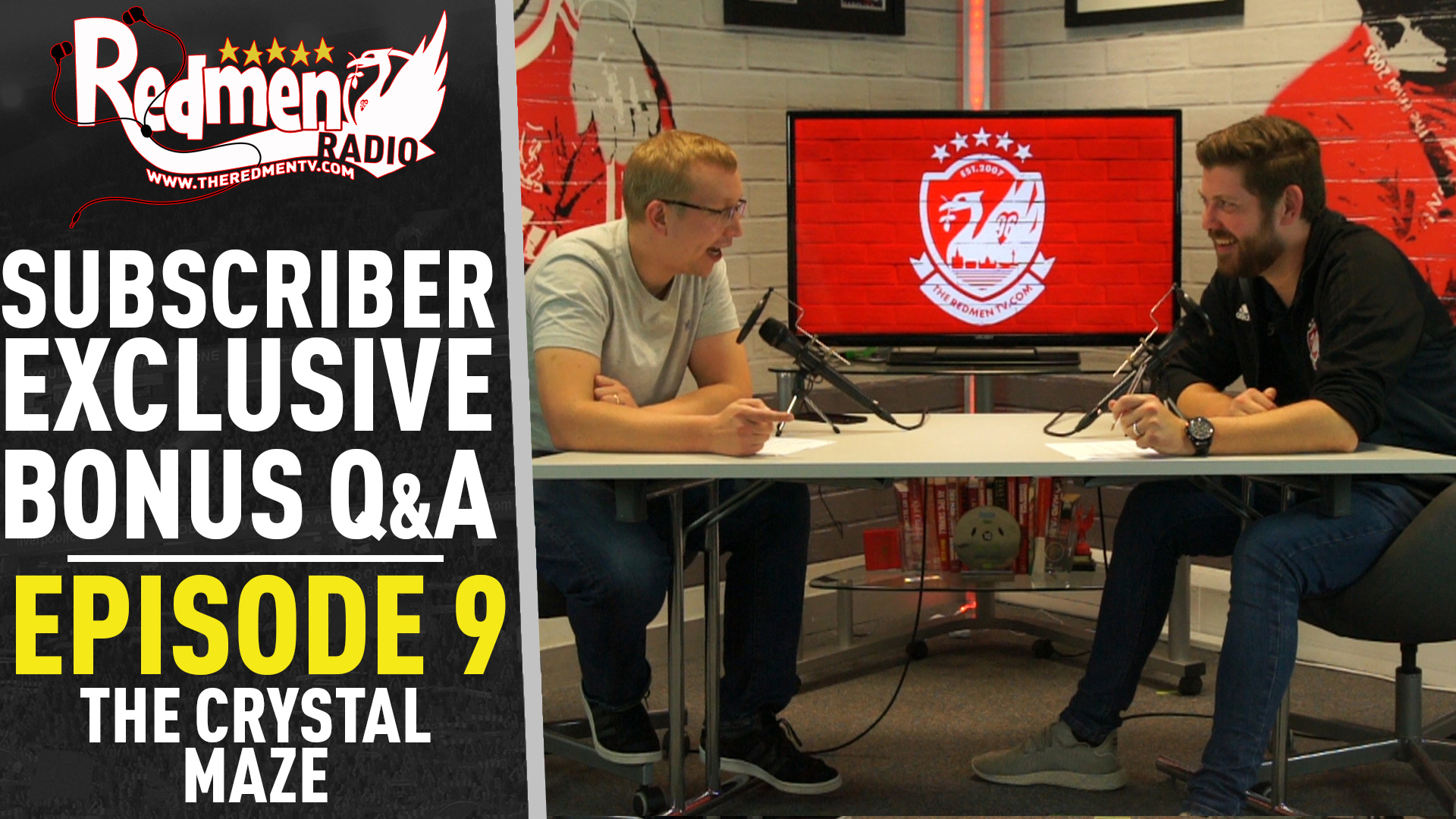 🎧🏆 Subscriber's Bonus Q & A Podcast (Ep. 9) | The Crystal Maze