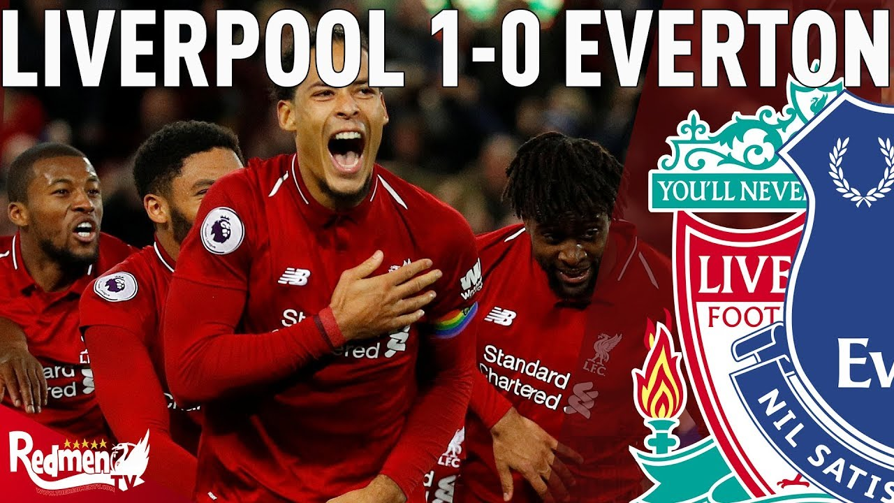 Liverpool 1 0 everton all post match content the redmen tv