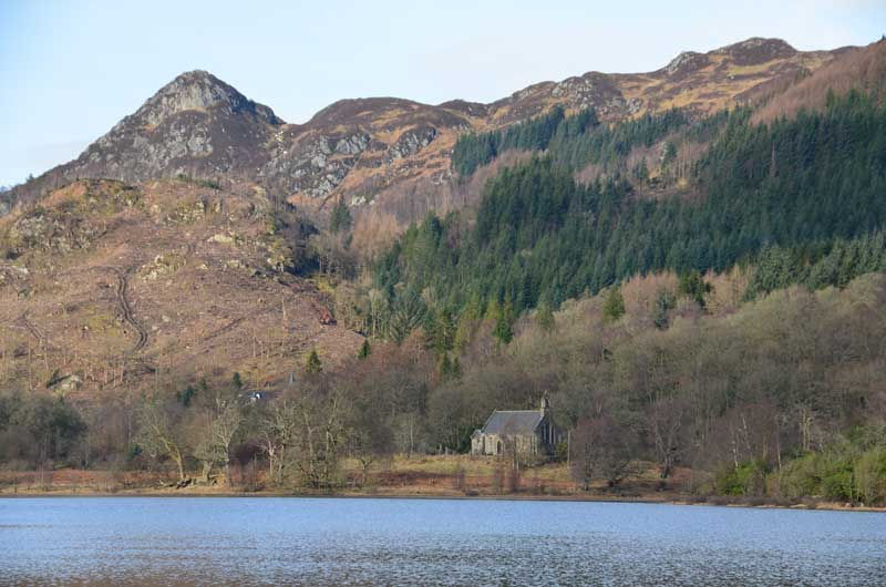 Loch Achray Trossachs Church