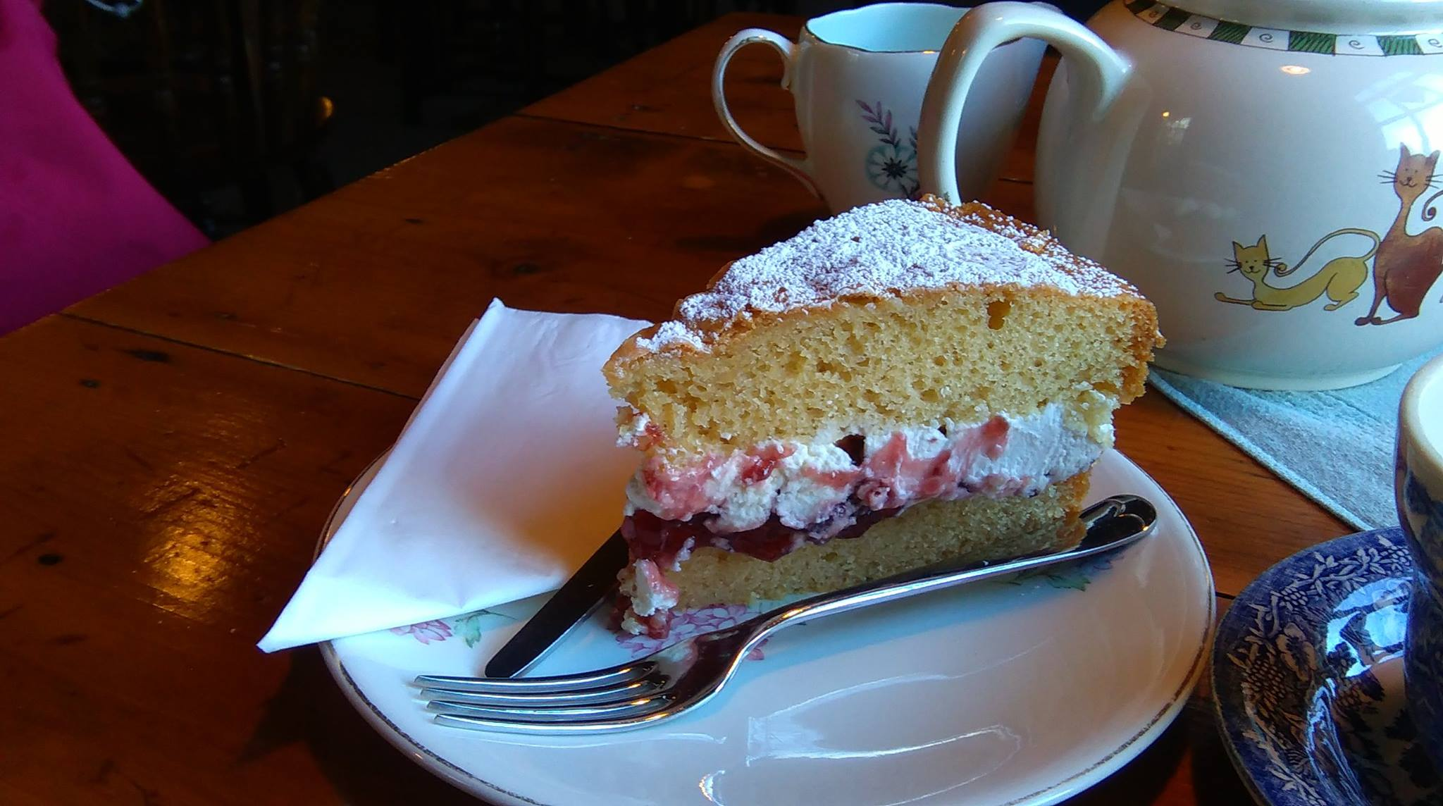 Brig O' Turk Tearooms Tea And Cake