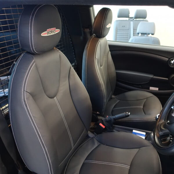Mini Clubman Van front seats