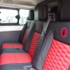 Ford Transit Custom 6 seater rear seats