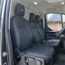 Ford Transit custom 3 seater leather interior