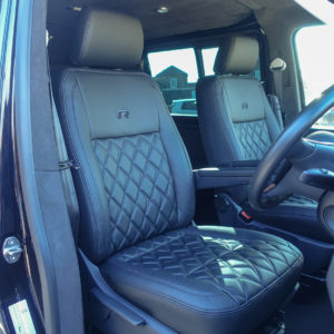 Volkswagen Transporter seats in Premium Nappa