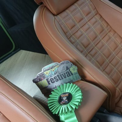 VW Caddy That Won VW Fest With Seat Surgeons Leather