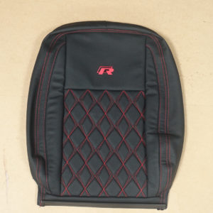 RP01 - All Red Stitched cover for a VW Transporter.