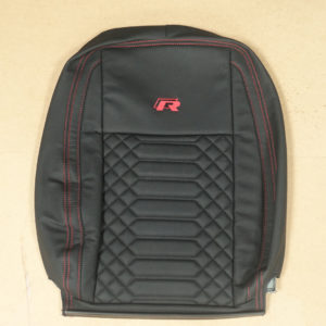 RP04 - Red and Black Stitched cover for a VW Transporter.