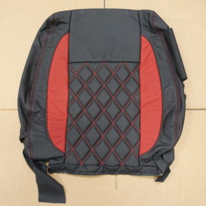 QA2P - Red Stitched seat cover for a Ford Ranger.