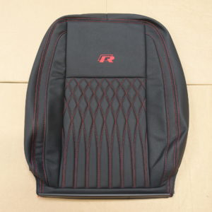 RP05 - All Red Stitched cover for a VW Transporter.