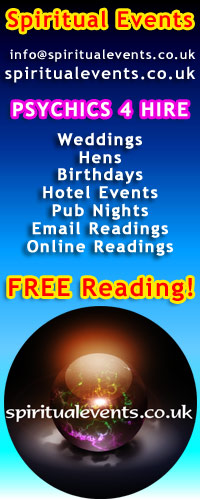 Spiritual Events UK - Psychics For Hire