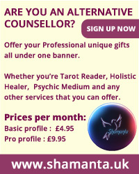 Shamanta.UK Are you an alternative counsellor? 2015