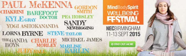 Mind Body Spirit Wellbeing Festival NEC