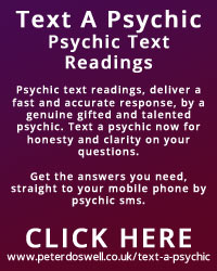 Peter Doswell Text a Psychic
