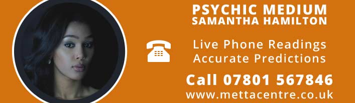 Psychic Medium - Samantha Hamilton