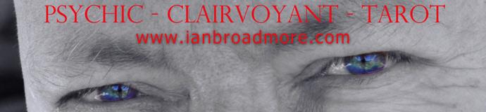 Ian Broadmore Clairvoyant Psychic Tarot