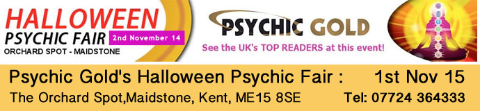 Psychic Gold's Halloween Psychic Fair 2015