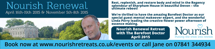 Nourish Renewal Retreat with The Barefoot Doctor April 2015