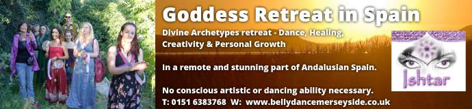Goddess retreat NR Grananda - Spain April 2015