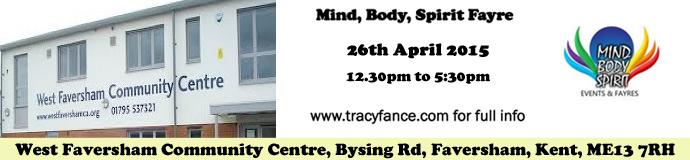 West Faversham Community Centre, MBS Fayre April 2015