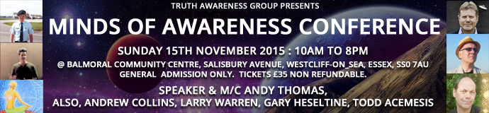 MINDS OF AWARENESS CONFERENCE 2015 - SOUTHEND November 2015