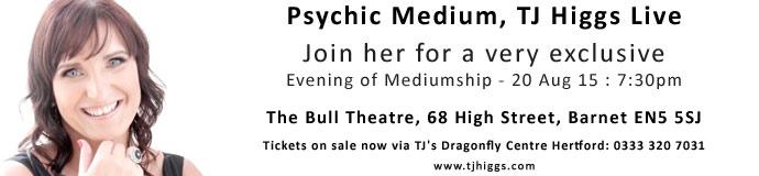 Psychic Medium TJ Higgs