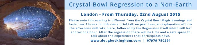 Crystal Bowl Regression to a Non-Earth Past Life