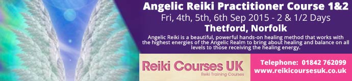 Angelic Reiki Practitioner Course 1&2