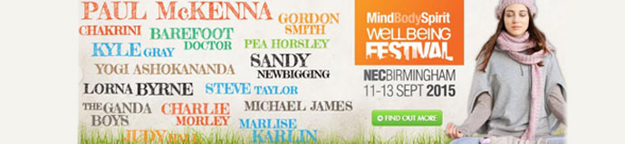 MindBodySpirit Wellbeing Festival - Can Your Entire Life Change for the Better in Just a Few Hours?