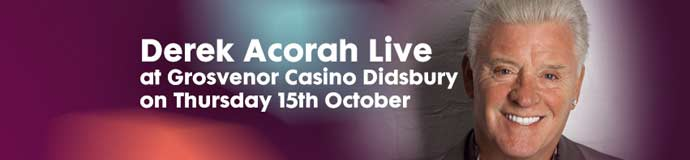 Derek Acorah Live at the Grosvenor Casino Didsbury