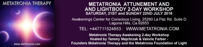 Metatronia Attunement & Lightbody 2-Day Workshop