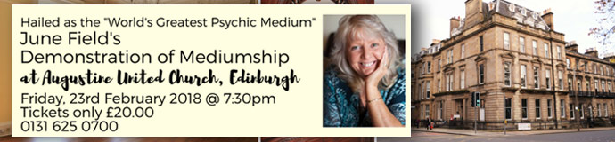 June Field - Demonstration of Mediumship & Two Day Workshop