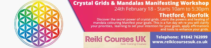 Crystal Grids & Mandalas Manifesting Workshop