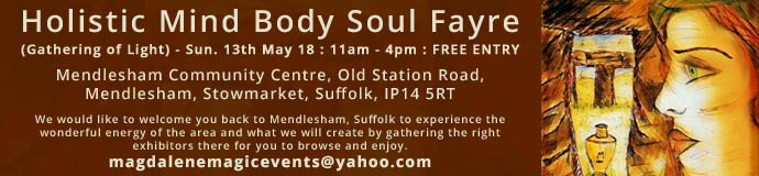 Holistic Mind Body Soul Fayre (Gathering of Light)